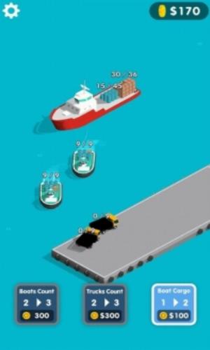 港口经理3D中文破解版下载-港口经理3D无限金币版下载