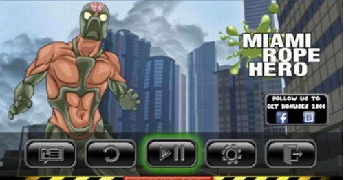 迈阿密绳索英雄破解版下载-迈阿密绳索英雄无敌版下载