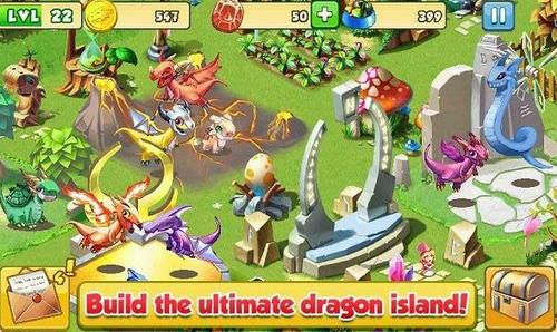 疯狂的龙破解版无限钻石金币免费中文版下载-疯狂的龙内购破解版下载